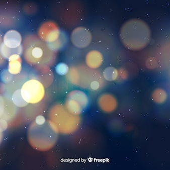 Bokeh effect background
