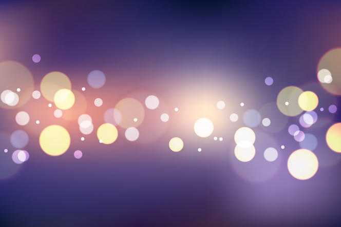 Bokeh effect gradient background