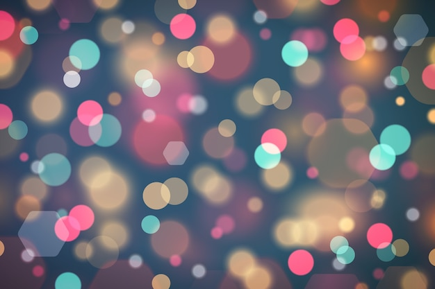 Bokeh light glitter on abstract background