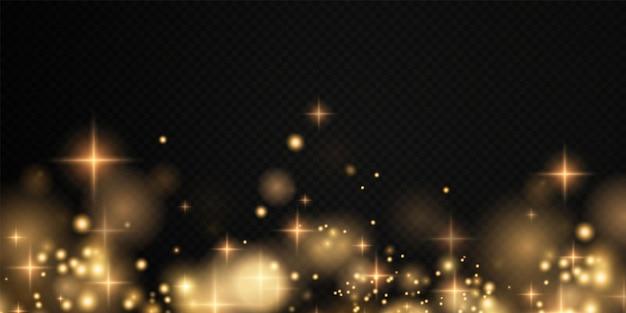 ボケライトライト効果の背景輝くほこりのクリスマスの背景クリスマスの輝くボケ