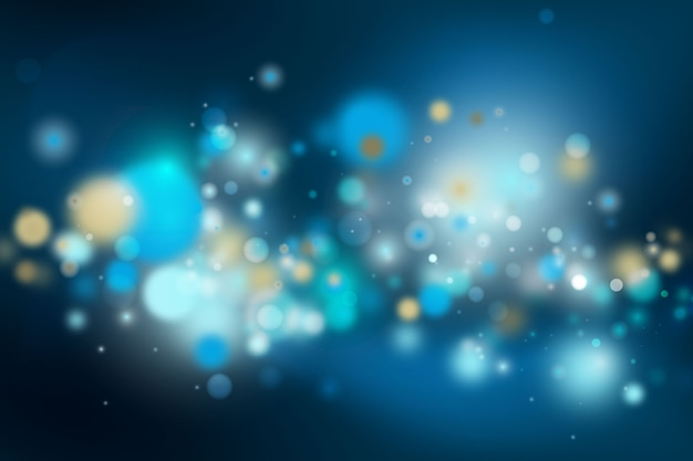 Bokeh lights background concept