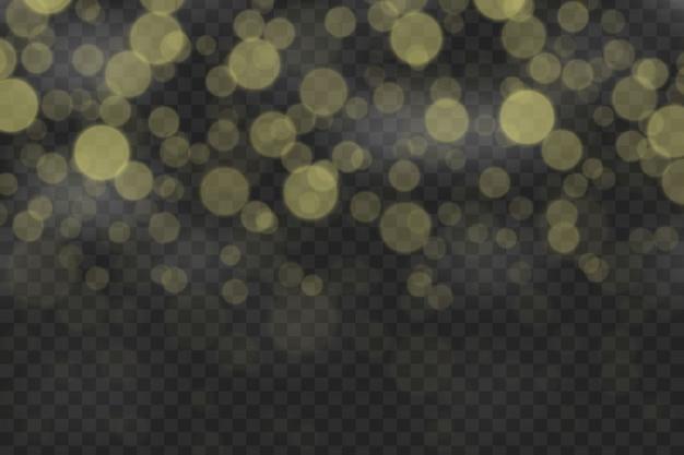 Боке световой эффект изолированы