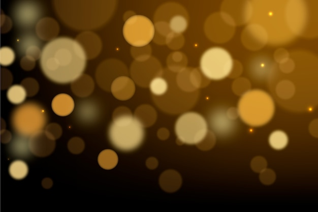 Bokeh lights effect screensaver