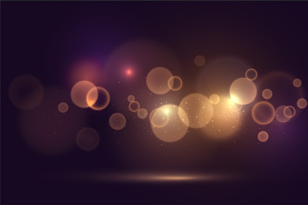 Bokeh lights effect wallpaper