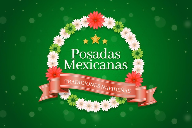 Боке посады мексиканы этикетка фон