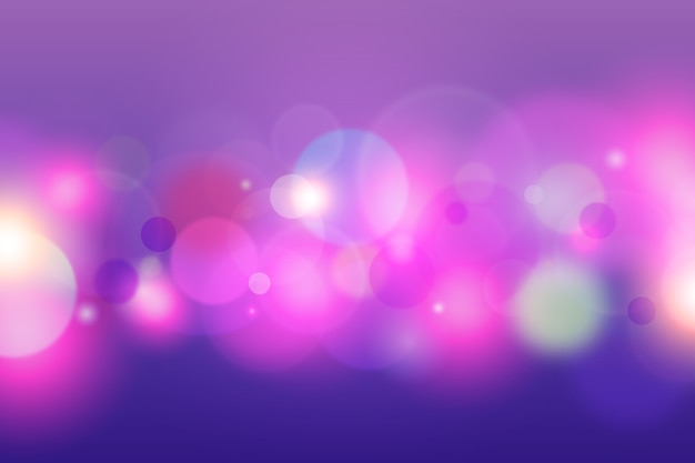 Bokeh theme for background