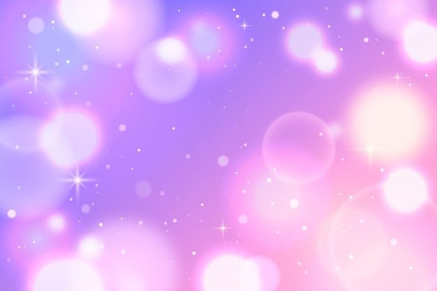 Bokeh wallpaper with particles