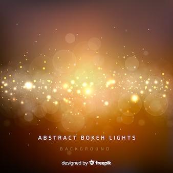抽象的なbokehライトの背景