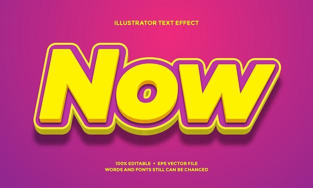 Жирный фиолетовый текстовый эффект или стиль шрифта