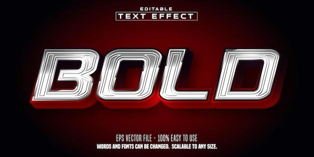 Bold sport stlye editable text effect