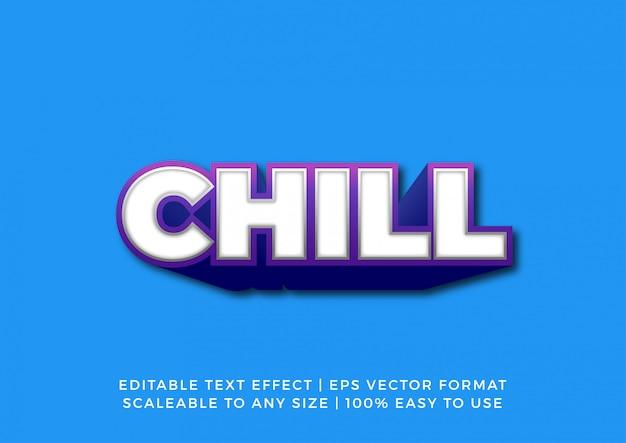 Эффект bold vibrant title 3d text