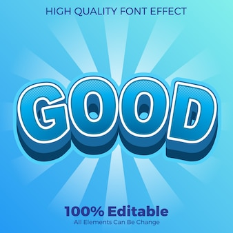 Bold with halftone effect style editable font