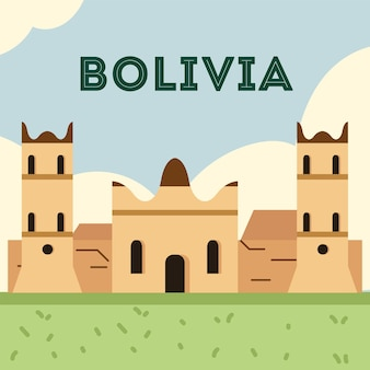 Древняя церковь боливии