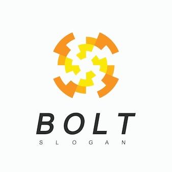 Bolt logo design template