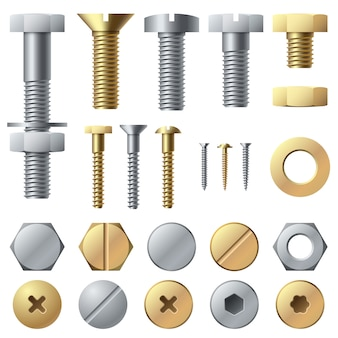 Bolts and screws set
