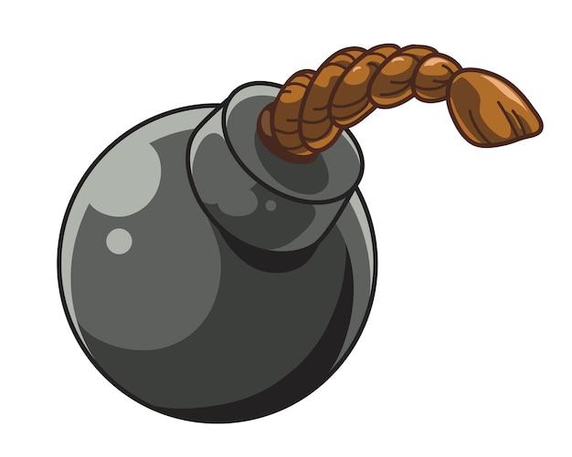 Bomb blast cartoon icon