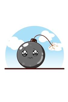 爆弾漫画イラスト