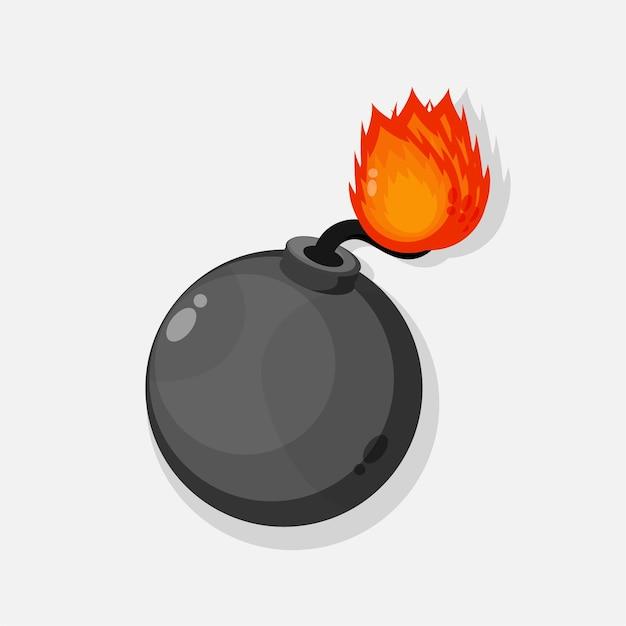 폭탄 아이콘 그림