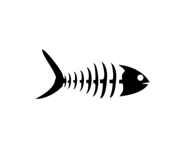 Bone fish vector