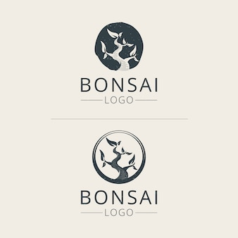Bonsai logo template