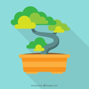 Bonsai tree illustration