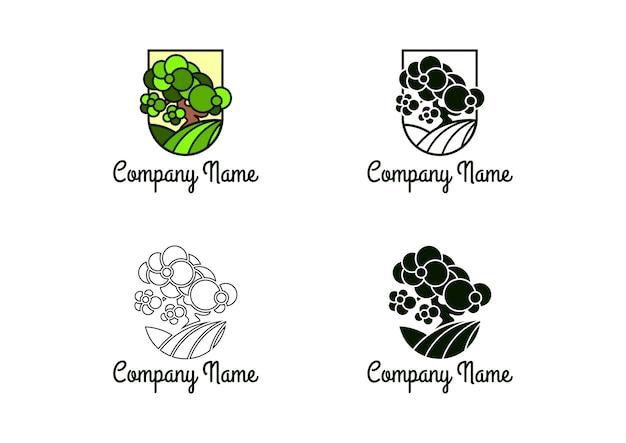 盆栽ツリーロゴ