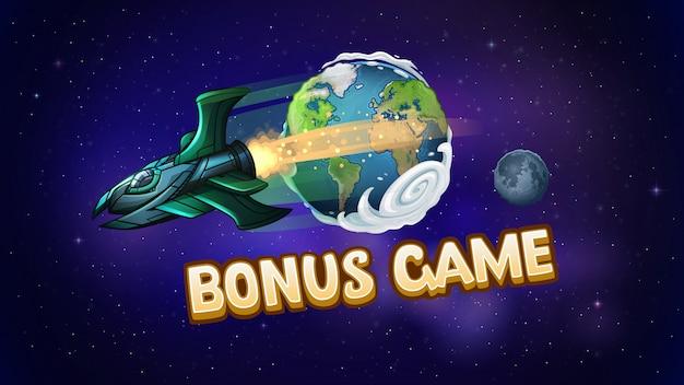 Экран бонусной игры для игрового автомата