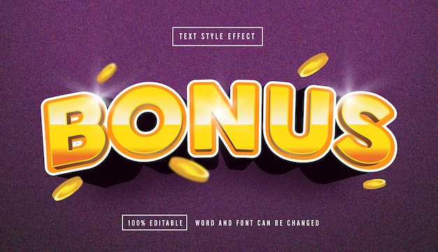Bonus gold text effect editable text effect editable