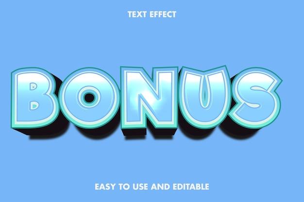 Bonus text effect. editable font style.