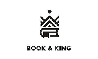Book And King Logo Design