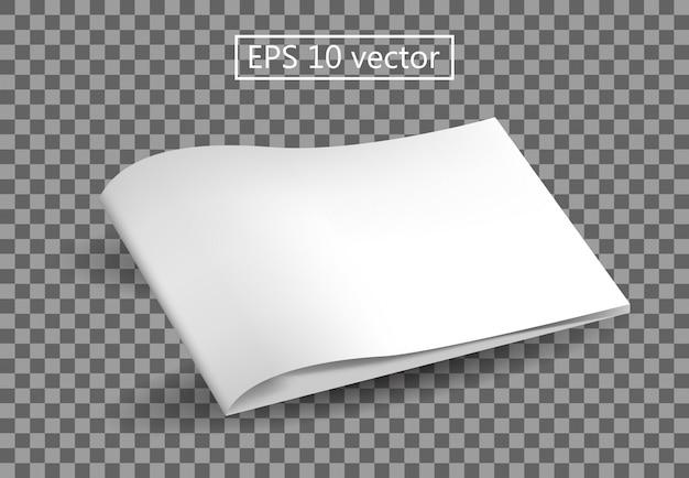 Book blank template