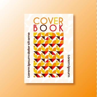 책 표지 현대적이고 미니멀 한 추상 패턴 배경