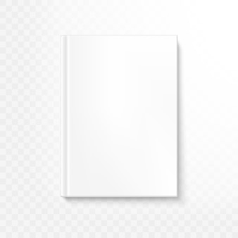 透明な背景の本の表紙。そしてまた含まれています