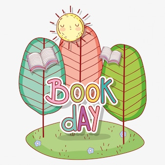 Book day celebration event to literature