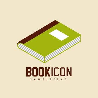 Book icon  design, vector illustration eps10 graphic