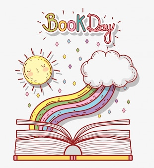 Book literature day to learn and study