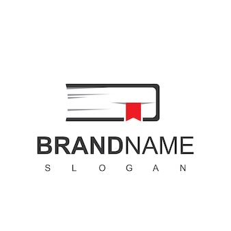 Book logo template