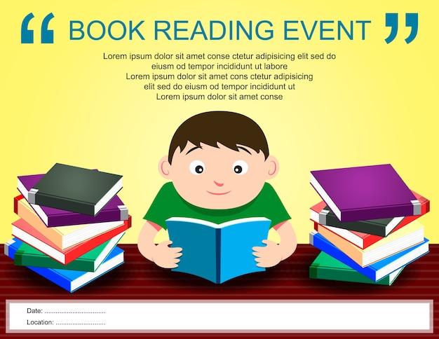 Плакат для чтения книг