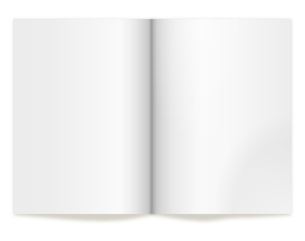 コンセプトとデザインを表すためのブックスプレッド