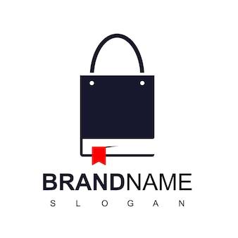 Book store logo Premium Vector