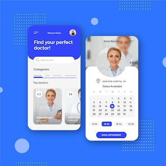 Book your medical days appointment app