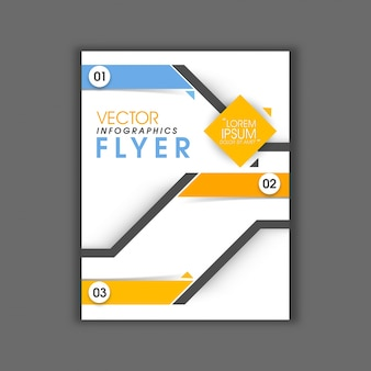 Booklet report business corporate flyer