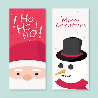 Bookmark christmas theme