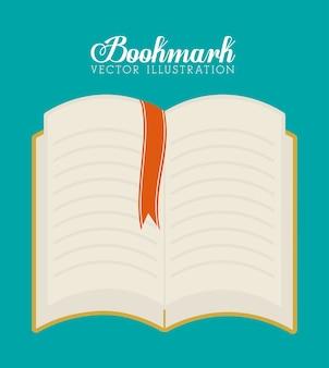Bookmark icons illustration