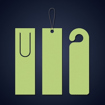Bookmark label tag icon. Guidebook decoration reading and literature  theme. Colorful design. Vector