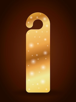Bookmark label tag with stars icon. Guidebook decoration reading and literature  theme. Colorful des