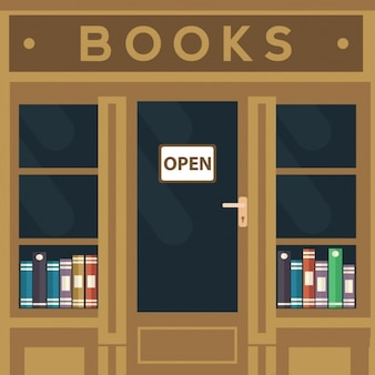 Bookshop background design