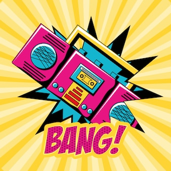 Boombox device icon