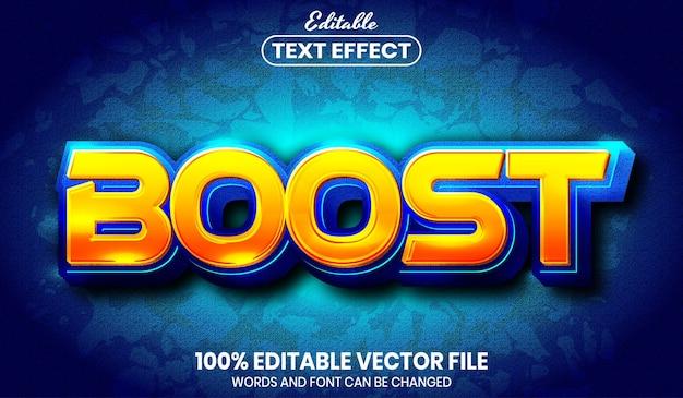 Увеличение текста, редактируемый текстовый эффект стиля шрифта