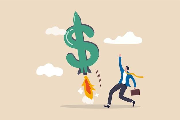 あなたの収入の成長を後押しし、ビジネス収益の概念を増やします